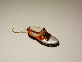 Christmas Ornament Golf Shoe Old World Christmas Golfing Sports - $7.99