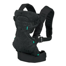Infantino Flip Advanced 4-in-1 Convertible Baby Carrier Dark Grey - $66.36