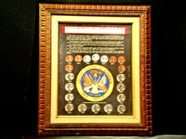 WARTIME COINAGE FRAMED Collectible Coins WWII Era AA19-CN6037 image 1