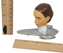 "PADME 3"" FIGURE CLONE WARS MCDONALDS - BOBBLE HEAD HAPPY MEAL TOY #5 USE... - $2.88"