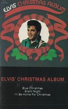 Elvis' Christmas Album Elvis Presley Music Cassette Tape 1992 - $4.94