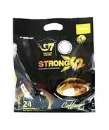 Trung Nguyen - G7 Strong X2 3 In 1 Instant Coffee - 24 sticks | Roasted ... - $19.79