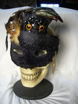 Bethany Lowe Halloween Owl Masquerade Mask no. LO5569 image 2