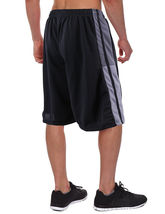 Men's Athletic Mesh Workout Fitness Training Basketball Sports Gym Shorts image 3