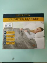 """Pendleton Glass Micro Beads Weighted Blanket 48""""x72"""" Anxiety And Stress ... - $59.03"""