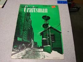 Railroad Model Craftsman magazine Lot of 4 Dec51, Jun85, May79, Oct87 - $16.83