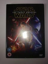 Star Wars The Force Awakens DVD 2016 Harrison Ford Mint - $1.50