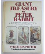 Giant Treasury Of Peter Rabbit, Vintage Children's Beatrix Potter Hardco... - $12.99