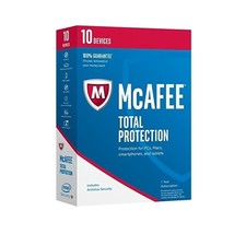 McAfee Total Protection 2017 10 Dell Devices MTP17EDL0RAA - $35.38