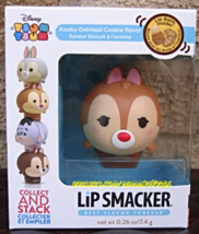 Dale Lip Smacker Tsum Tsum Stackable Lip Balm Kooky Oatmeal Cookie Rescu... - $9.50