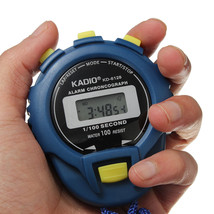 Sports Odometer Electronic Digital Chronograph Time Stopwatch - $7.93