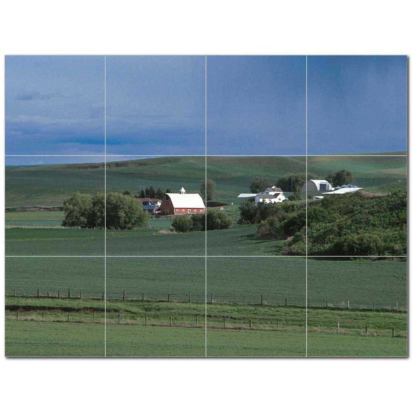 Primary image for Landscapes Usda Ceramic Tile Mural Kitchen Backsplash Bathroom Shower BAZ405433