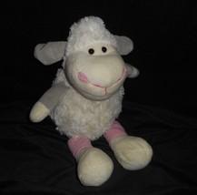 "12"" Best Made Toys Baby White Sheep / Lamb Stuffed Animal Plush Toy Soft Lovey - $23.38"