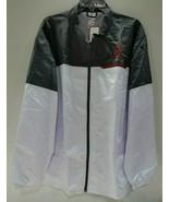 College Cool Men's Grey Alabama Crimson Tide Full-Zip Wind Jacket Size 2XL - $34.83