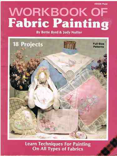 Workbook of Fabric Painting Craft Book