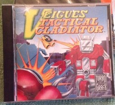 Turbo Grafx 16 Hu-Card Veigues Tactical Gladiator. 1990. Very Good. - $49.50