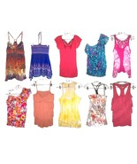 Sizes S - XL ~ No Boundaries NoBo Sleeveless Summer Tops in Blue, Pink &... - $17.09+