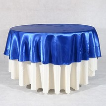 "Royal - 70"" Satin Round Tablecloths - ( 70 Inch ) - $16.05"