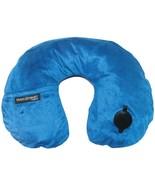 Travel Smart TS44NVYX EZ Inflate Fleece Neck Rest (Navy) - $33.95