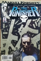 MARVEL KNIGHTS PG+ 7: The Punisher Vol 4 February 2002 - $1.95