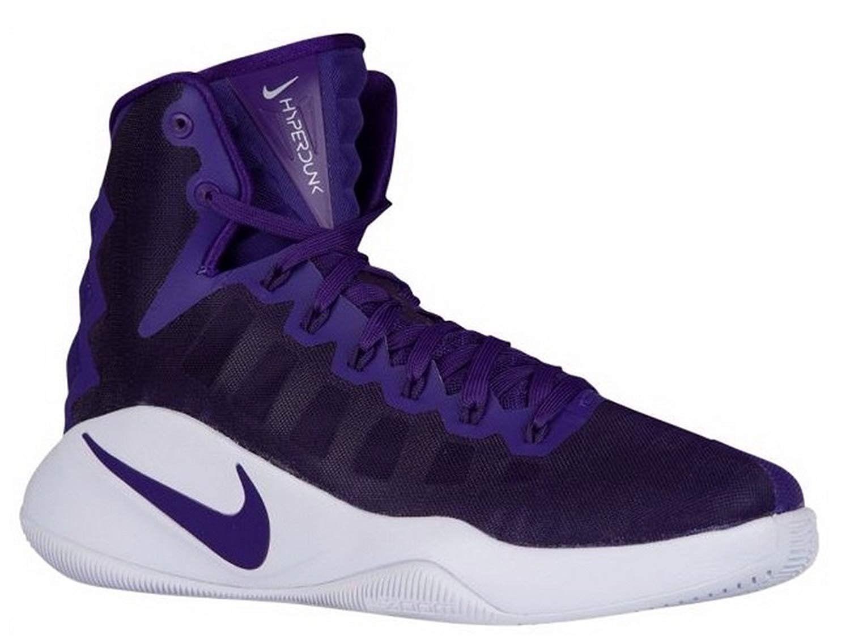 a8252f607a016 Nike Hyperdunk Zoom Basketball Shoes Purple White 856483 551 Mens Size 16 -   84.95