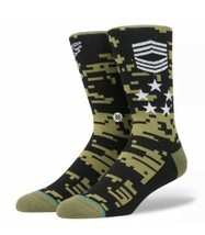 STANCE Spec Ops 545 D WADE Combined Cotton Basketball Crew Socks Men Large - $14.70