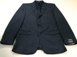 Van Huesen Traveler 40S Navy Blue 2-Button Blazer Sport Coat Jacket NEW NWT - $59.99