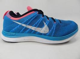Nike Flyknit Lunar1 Size US 8.5 M (D) EU 42 Men's Running Shoes Blue 554887-414