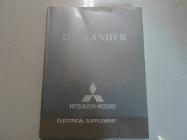 2006 MITSUBISHI Outlander Electrical Supplement Service Repair Shop Manual WORN - $14.22