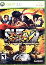 Super Street Fighter IV  XBox 360 - $14.95