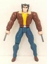"Marvel X-Men Wolverine Street Clothes 5"" Action Figure ToyBiz 1994 Used - $15.00"
