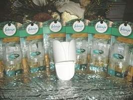 6 Febreze FROSTED PINE Dual Scented Oil Noticeables refills - €43,80 EUR