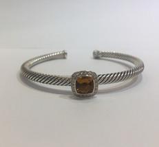 David Yurman Albion Bracelet with Morganite and Diamonds - $780.00