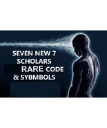 7 AVAILABLE 7 SCHOLARS RARE COLLECTION OF 7 MAGICK SYMBOLS CODE Magick  - $132.77