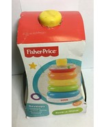 FISHER PRICE ROCK-A-STACK TOY FOR 6-36 MONTHS OLD BABIES, FREE SHIPPING - $20.30