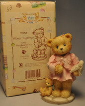 Cherished Teddies - Hillary Hugaear - CT952 - Membears Only Figuine - $11.18