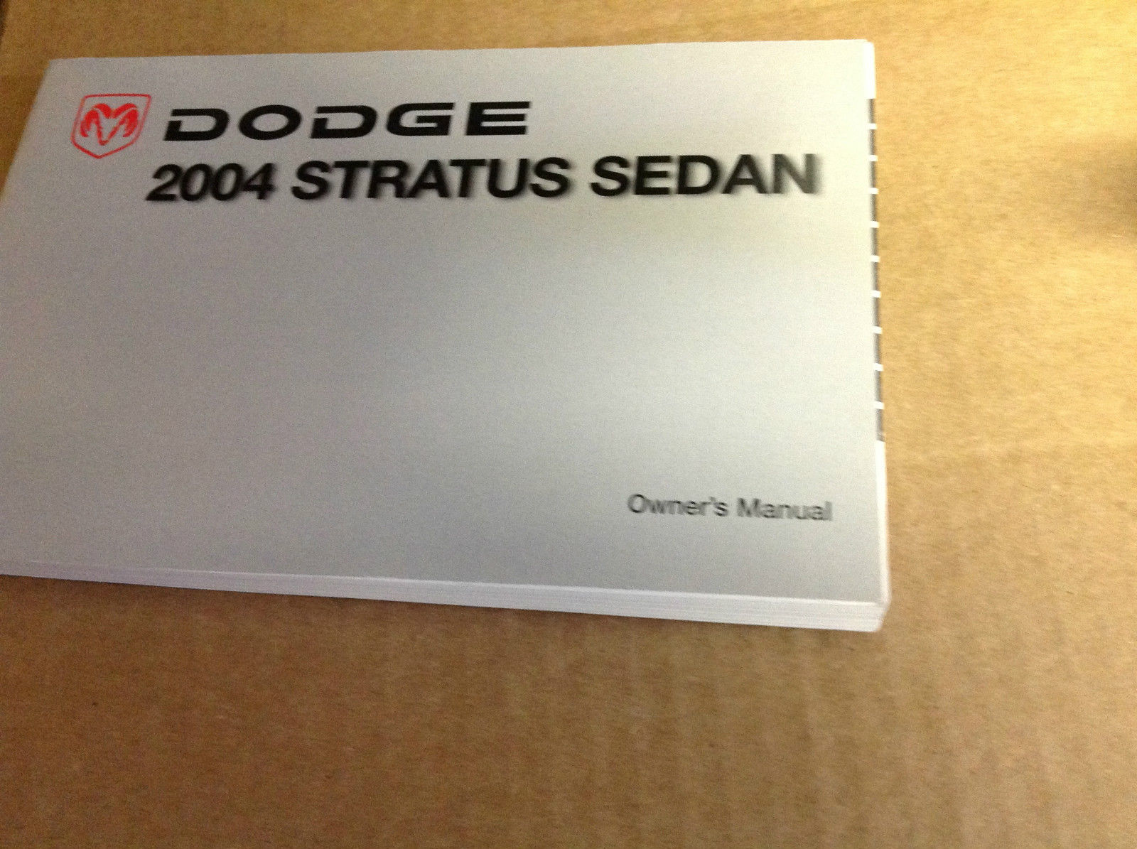 Primary image for 2004 DODGE STRATUS SEDAN Factory Owners Manual Booklet Glove Box Mopar OEM x