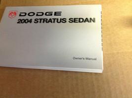 2004 Dodge Stratus Sedan Factory Owners Manual Booklet Glove Box Mopar Oem X - $33.61