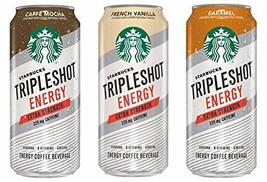 Starbucks Tripleshot Energy Coffee Beverage (3 Flavor Variety 12 Pack) - $32.66