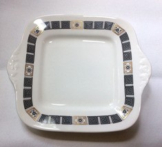 Wedgwood Black Asia Cake Serving Plate R4288 - $24.73