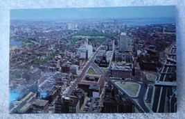 RPPC Postcard 1963-4 Historic Boston from New Prudential Tower Lusterchr... - $5.94