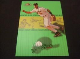 2002 Fleer Tradition 'GRASS ROOTS' #6 Cal Ripken Jr. -Baltimore Orioles- - $3.12
