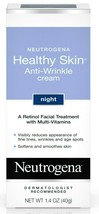 Neutrogena Healthy Skin Anti-Wrinkle Night Cream With Retnoil - $16.17