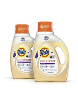 Tide Purclean Plant-Based Laundry Detergent, Honey Lavender Scent, 2x50 ... - $23.99