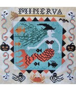 Minerva cross stitch chart Kathy Barrick Designs  - $9.00