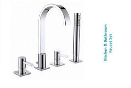 Cascada Bath Shower Faucet Set BSTMAY150047 - $180.15