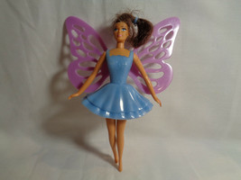 McDonald's 2001 Mattel Butterfly Teresa Barbie Doll Blue Dress  - $1.17