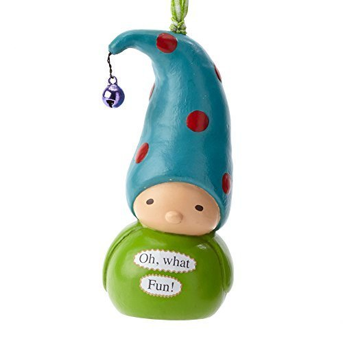 Enesco Bea's Wees Gift Oh What Fun Ornament, 4-Inch