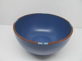 "Dansk Mesa Sky Blue 8 1/4"" Mixing Serving Bowl Portugal  GUC - $24.50"