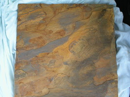 """BUY 4 GET+1 FREE Slate Stepping Stone Concrete Molds 18"""" Make DIY Stone or Tile image 1"""